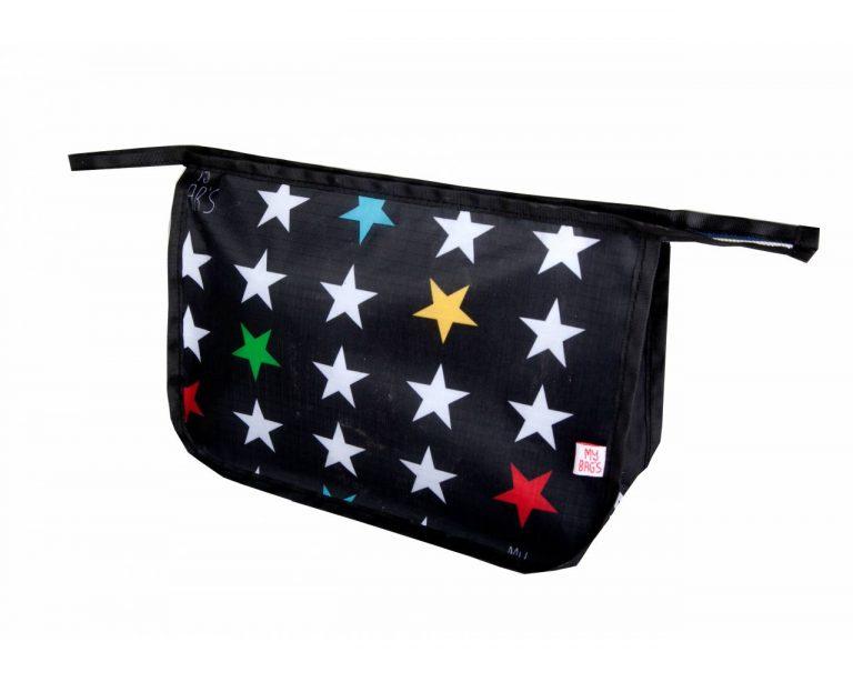 Neceser estrellas en negro
