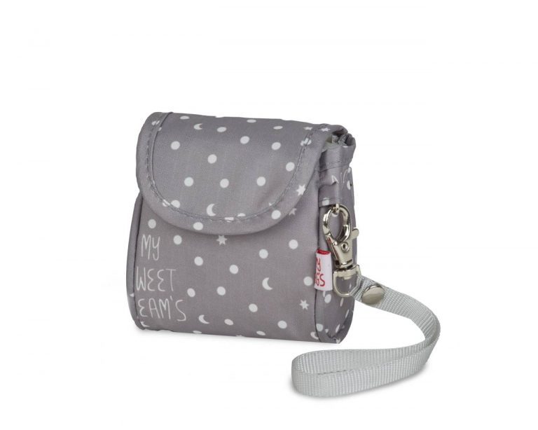 Portachupetes swd gris