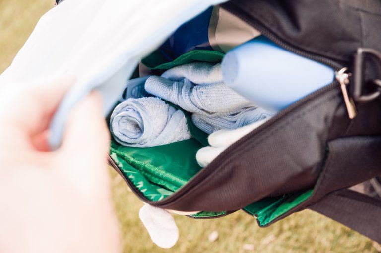 Organizador Eco Recycled solapa azul