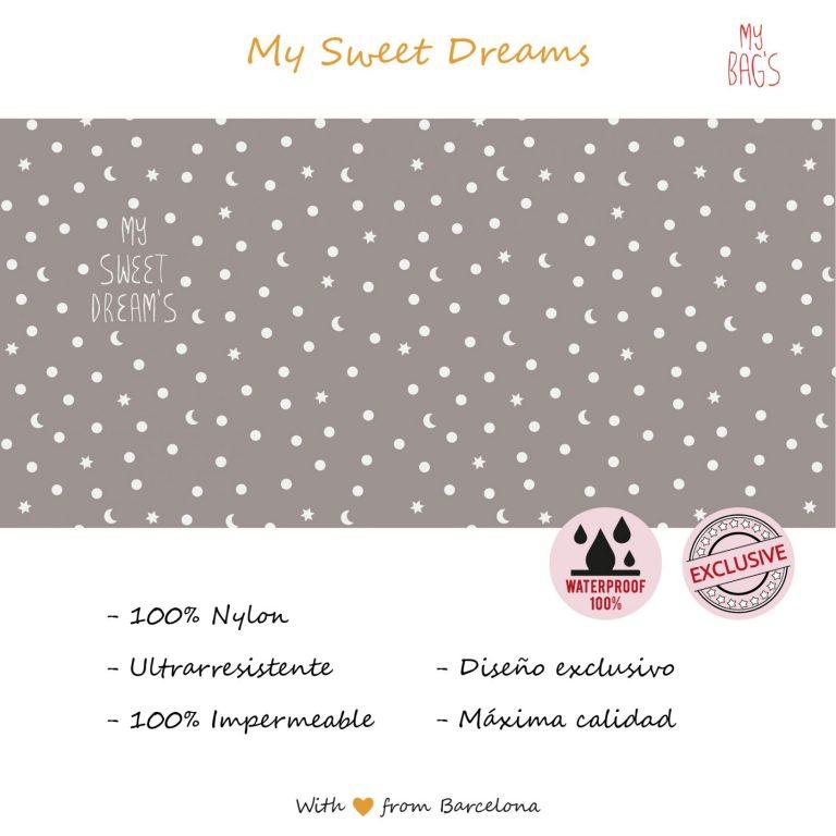 Mochila Multiuso Sweet Dreams gris