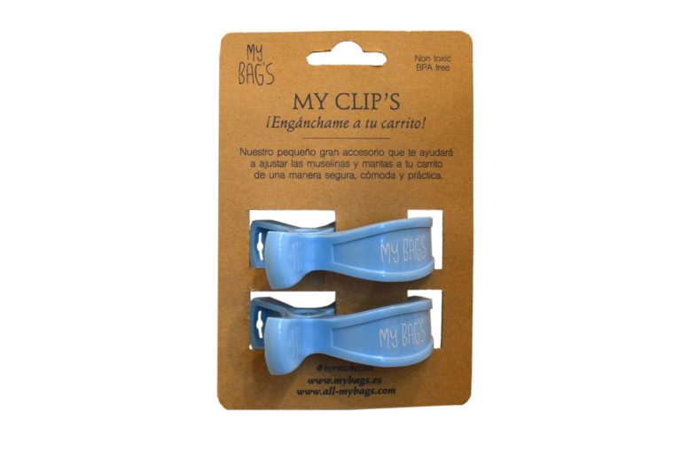 My Clips azul