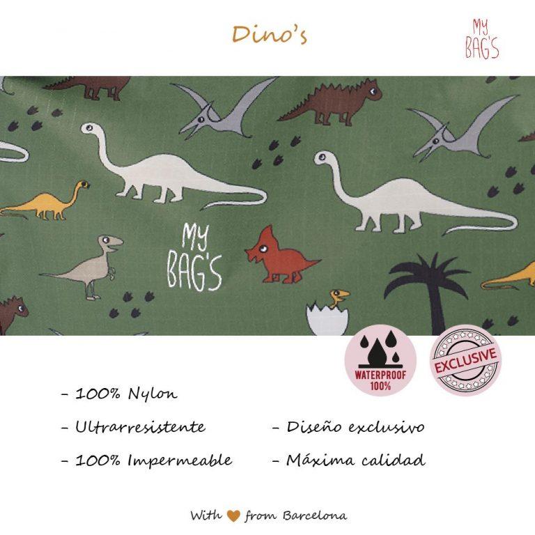 Mochila multiusos Dino's
