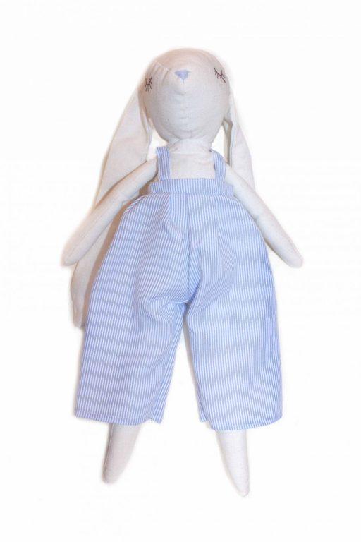 Muñeco de trapo azul