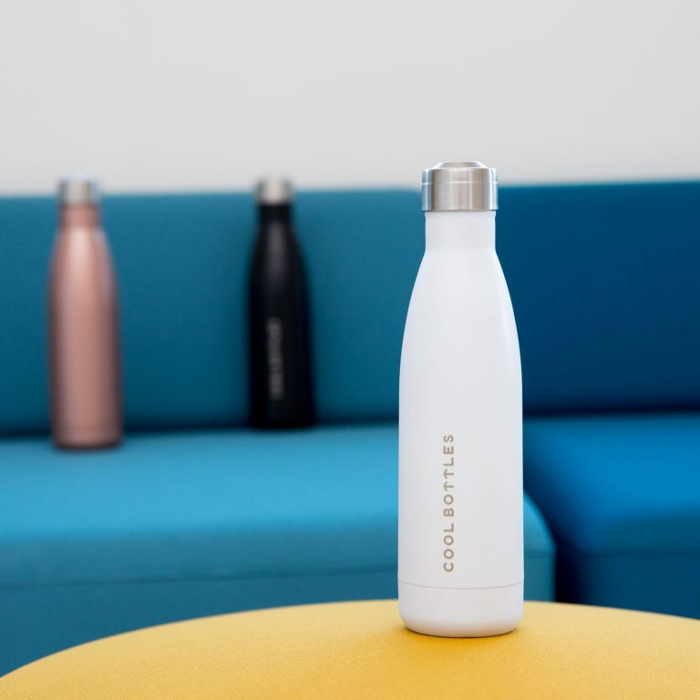 Botella térmica blanco