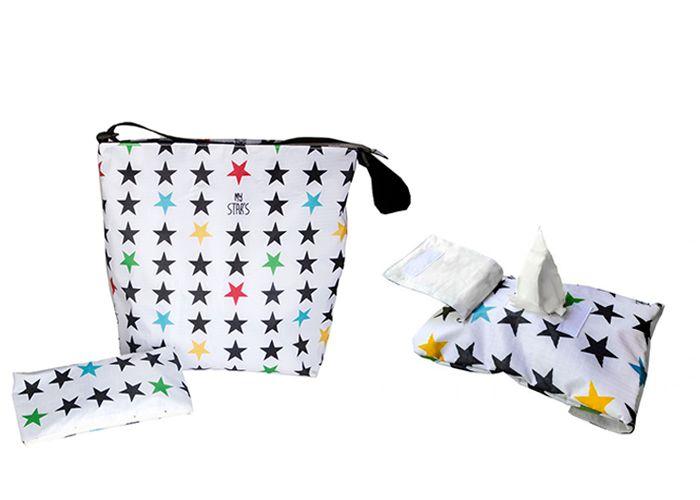 aPack bolso de carro con accesorios estrellas en b…