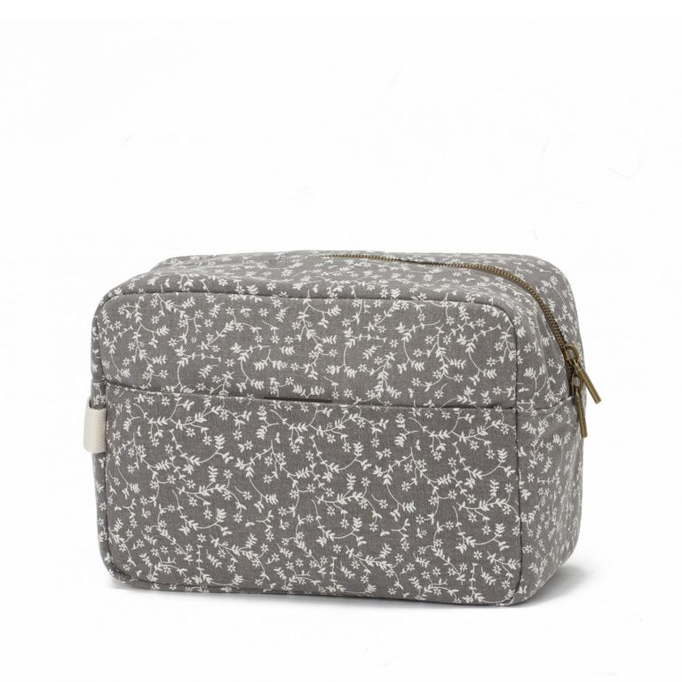 Neceser Liberty flowers gris oscuro