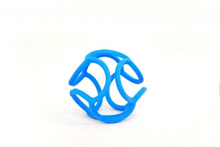Bolli mordedor azul