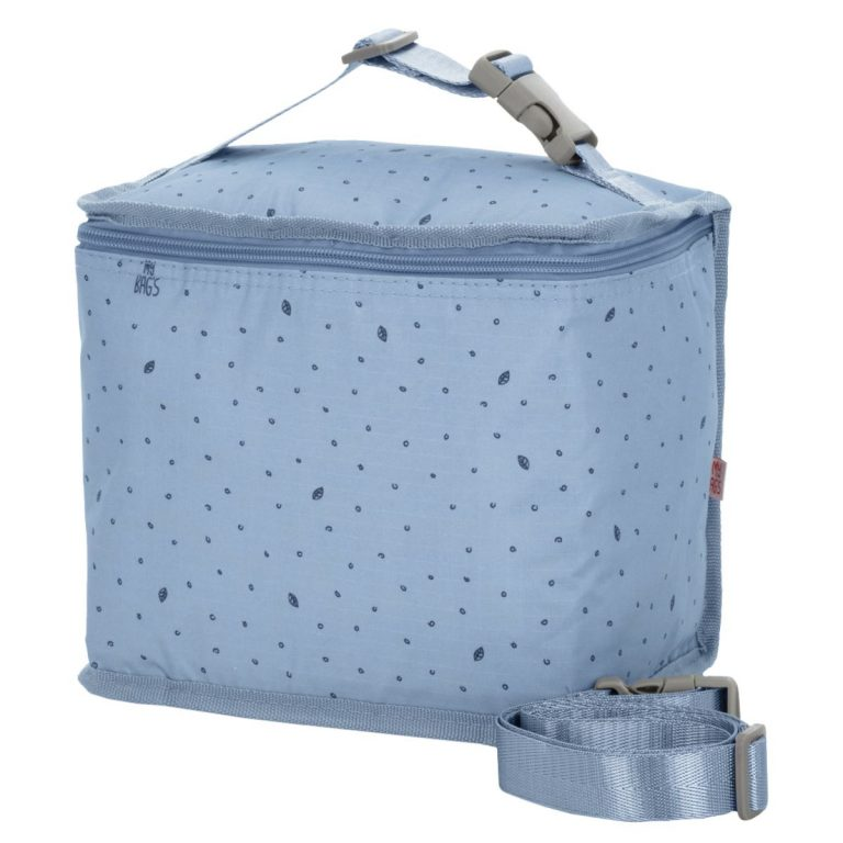 Nevera Leaf gris azul