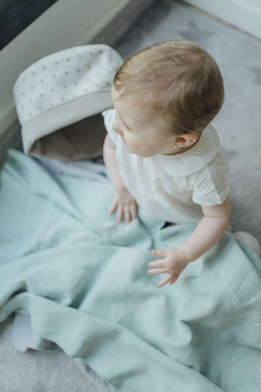 Muselina Waffel Estrellas mint