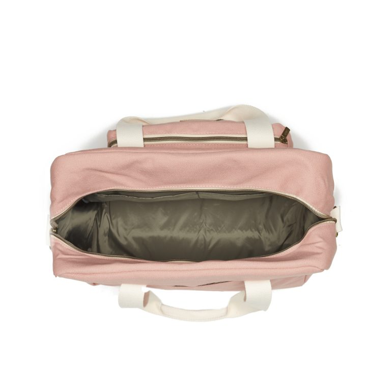 Bolsa Maternindad Canvas Rosa