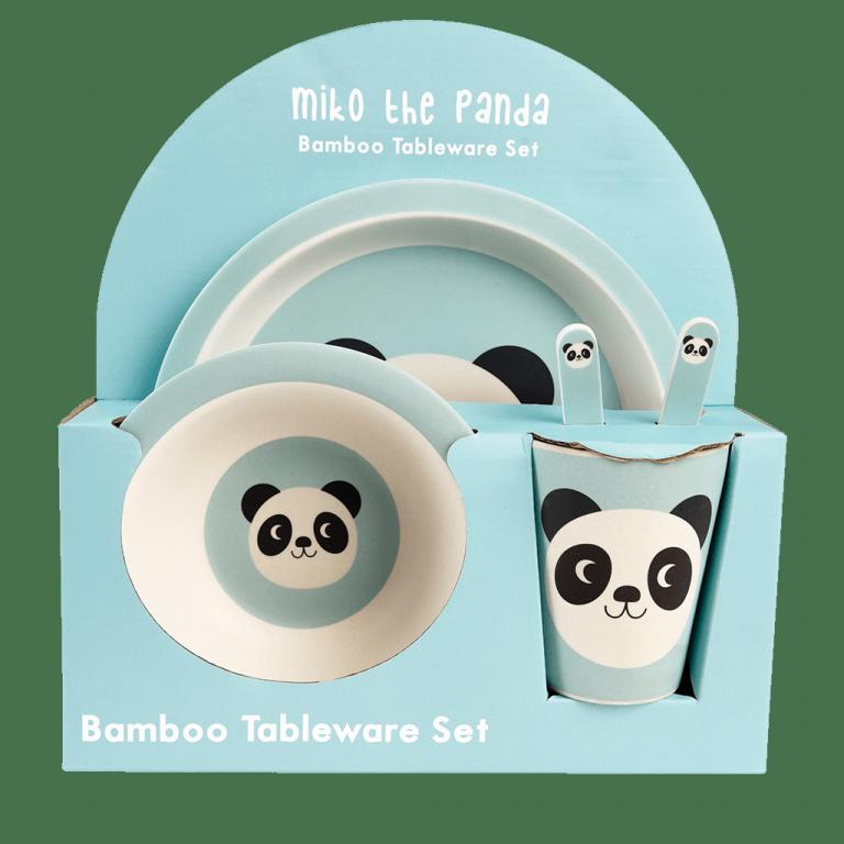 Vajilla Bambú Panda