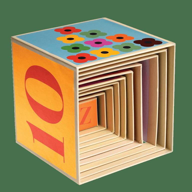 Caja apilable animales